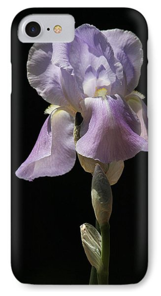 IPhone Case featuring the photograph Iris by Trina  Ansel