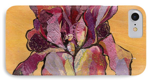 Iris V  - Series V IPhone 7 Case by Shadia Derbyshire