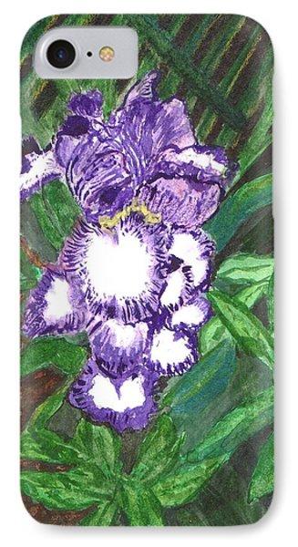 Iris IPhone Case by Vickie G Buccini
