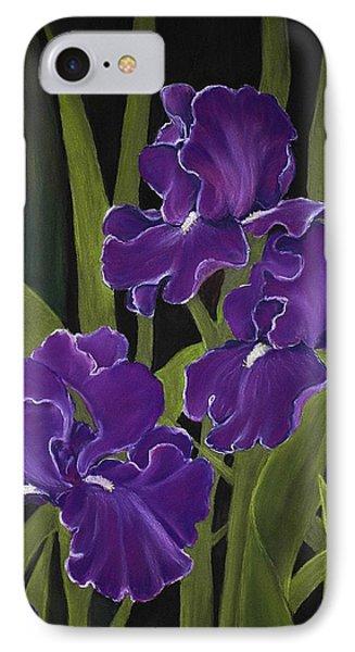 Irises IPhone Case by Anastasiya Malakhova