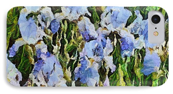 Irises IPhone Case by Dragica  Micki Fortuna