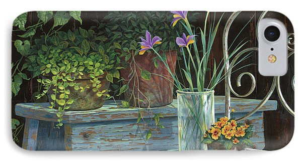 Irises IPhone 7 Case by Michael Humphries