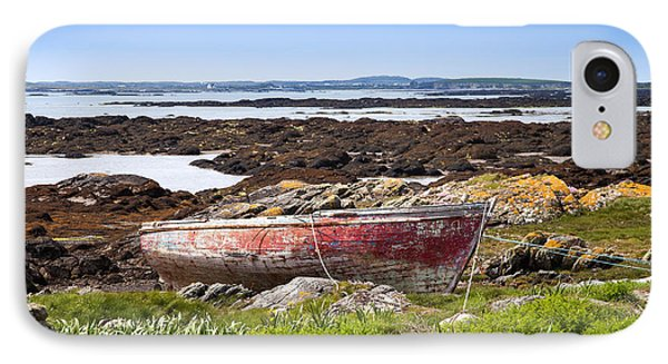 IPhone Case featuring the photograph Irish Coast Impression by Juergen Klust