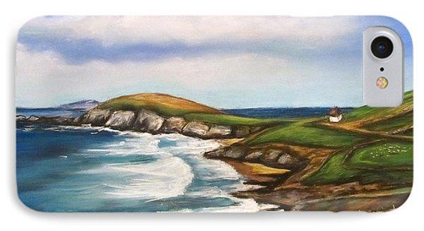 IPhone Case featuring the painting Dingle Peninsula Irish Coastline by Melinda Saminski