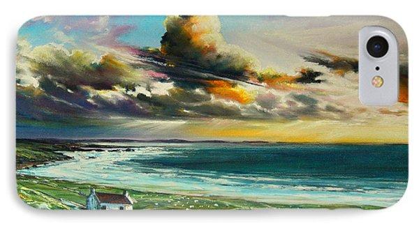 Irish Coastline Phone Case by Roman Burgan