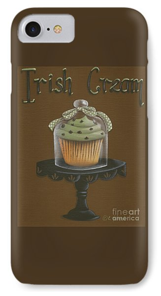 Irish Cream Cupcake IPhone Case