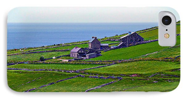 Irish Farm 1 IPhone Case by Patricia Griffin Brett