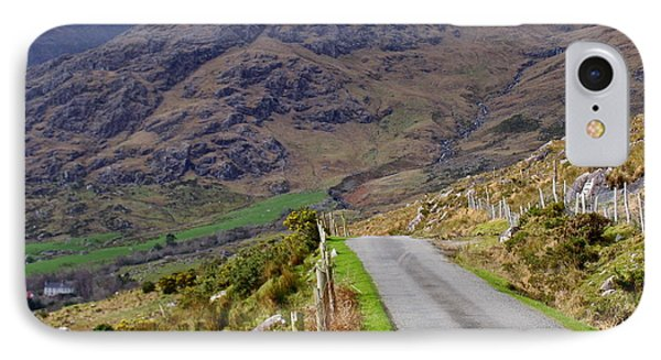IPhone Case featuring the photograph Irish Road by Suzanne Oesterling