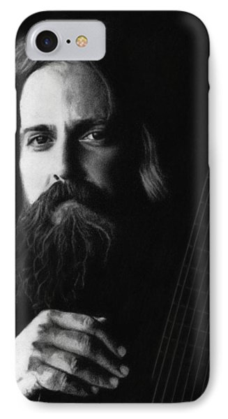 Iron And Wine Phone Case by Justin Clark