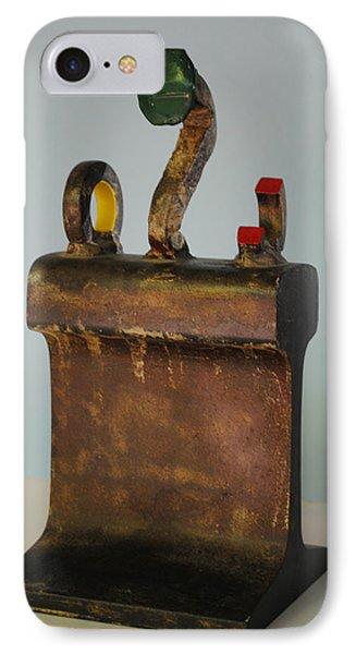 Iron John Henry I Phone Case by Tom Wright