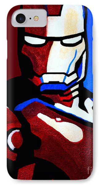 Iron Man 2 IPhone Case by Barbara McMahon