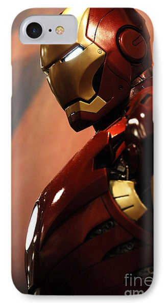 Iron Man Phone Case by Micah May