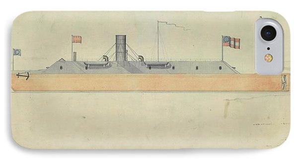 Ironclad Warship Css Virginia IPhone Case