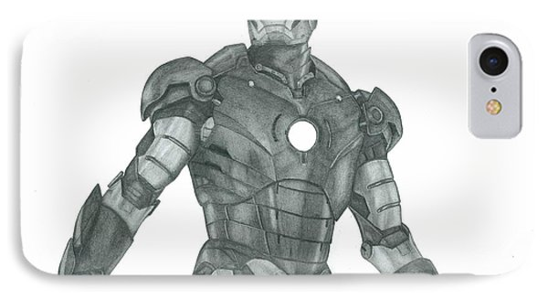 Ironman Phone Case by Rich Colvin