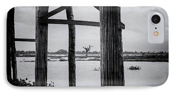 Irrawaddy River Tree IPhone Case by Dean Harte