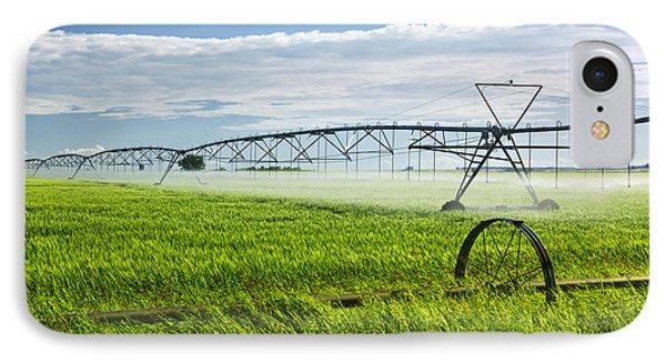 Irrigation On Saskatchewan Farm IPhone Case by Elena Elisseeva