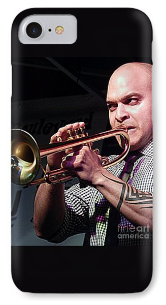 Irvin Mayfield In New Orleans Louisiana IPhone Case