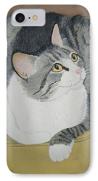 IPhone Case featuring the painting Is Dinner Ready by Norm Starks