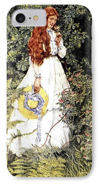 Is She Not Pure Gold My Mistress IPhone Case by Eleanor Fortescue Brickdale