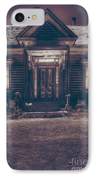 Is Someone Home IPhone Case by Margie Hurwich