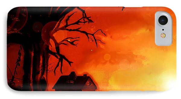 Is This Scary? IPhone Case by Persephone Artworks