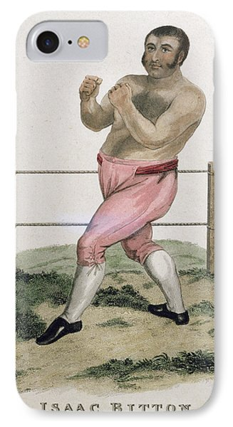 Isaac Bitton, Engraved By P. Roberts IPhone Case by Isaac Robert Cruikshank