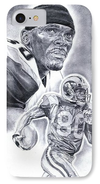 Isaac Bruce Phone Case by Jonathan Tooley
