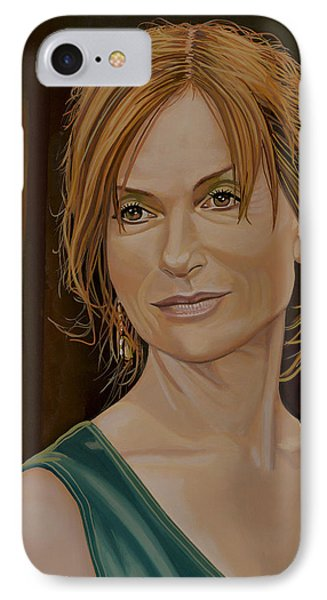Isabelle Huppert Painting IPhone Case