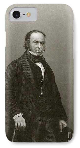 Isambard Kingdom Brunel, British Engineer IPhone Case by Miriam And Ira D. Wallach Division Of Art, Prints And Photographs