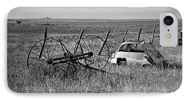 Isetta And Hay Rake Phone Case by Melany Sarafis