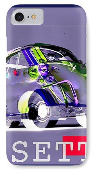 Isetta IPhone Case by Jean luc Comperat
