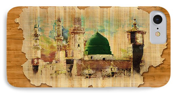 Islamic Calligraphy 040 IPhone Case by Catf