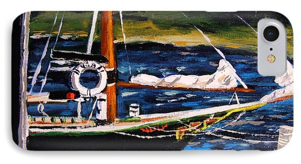 IPhone Case featuring the painting Island Berth by John Williams