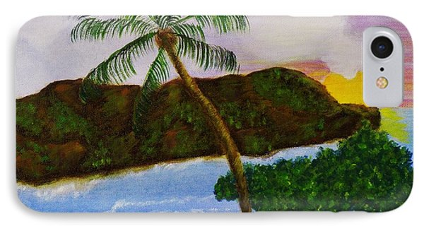 IPhone Case featuring the painting Island Escape by Celeste Manning