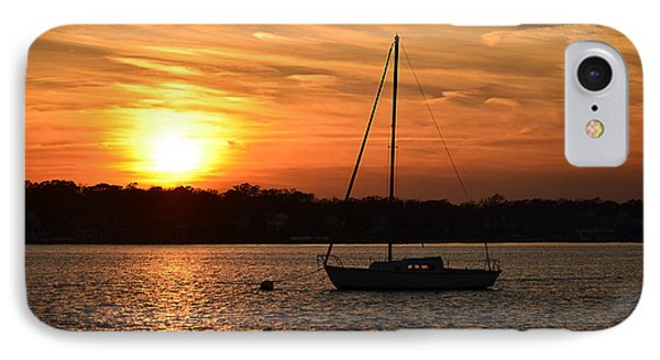 Island Heights Sunset IPhone Case by Brian Hughes