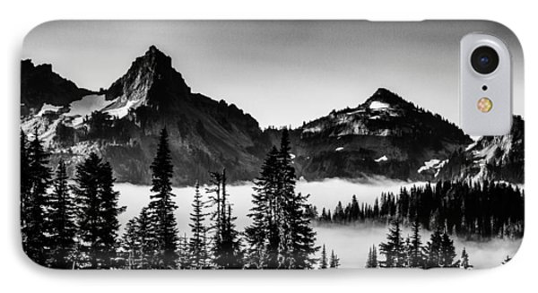 Island In The Clouds IPhone Case by Chris McKenna