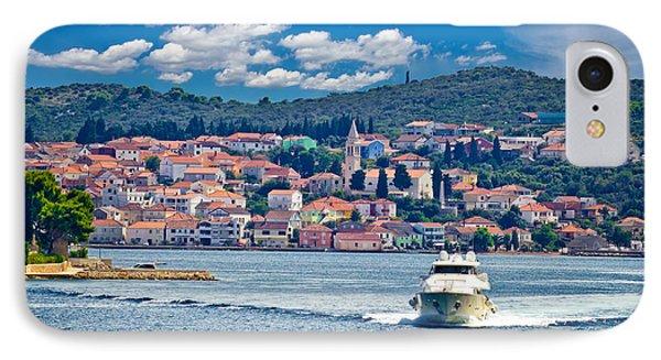 Island Of Ugljan Yachting Destination IPhone Case