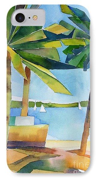 Island Palms IPhone Case by Yolanda Koh