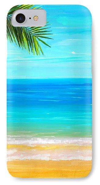 Island Paradise IPhone Case by Lourry Legarde