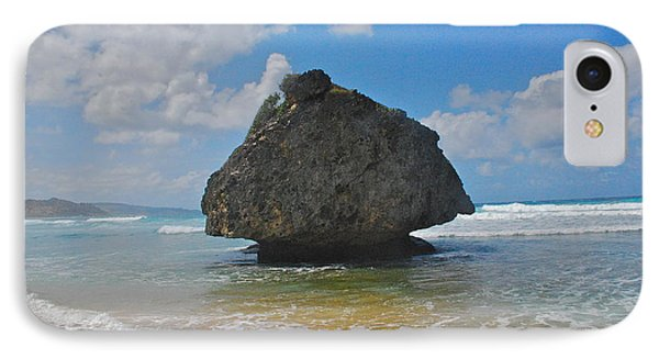 IPhone Case featuring the photograph Island Rock by Blake Yeager