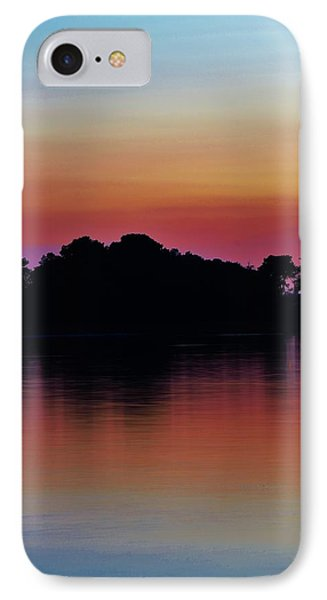 Island Silhouette IPhone Case