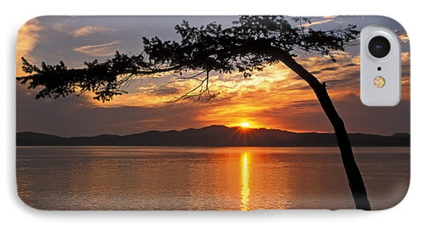 IPhone Case featuring the photograph Island Sunrise by Inge Riis McDonald