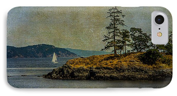 Island Time IPhone Case by Kathy Bassett