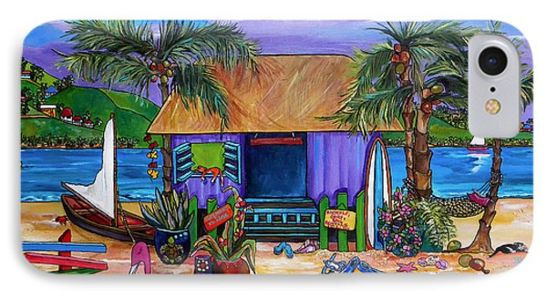 Island Time Phone Case by Patti Schermerhorn