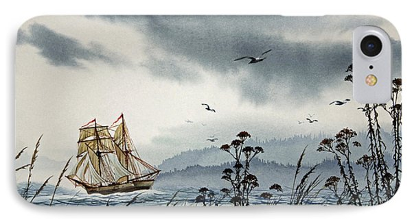 Island Voyager IPhone Case by James Williamson