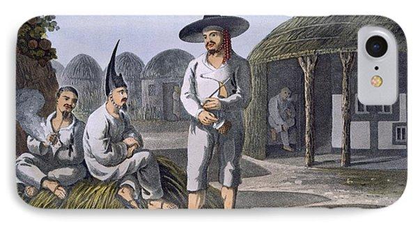 Islanders Of Sir James Halls Group, 1820 IPhone Case