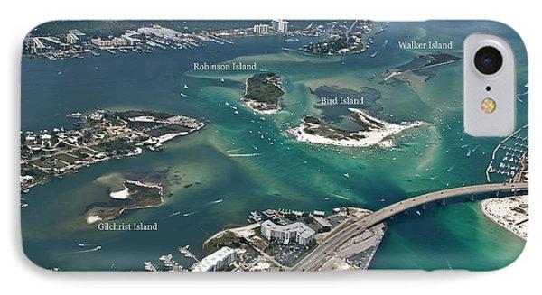 Islands Of Perdido - Labeled IPhone Case