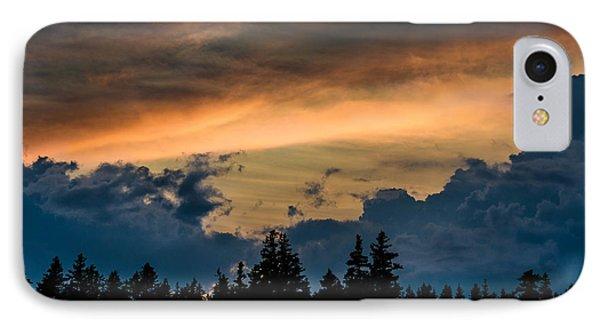 Isle Au Haut Sunset IPhone Case