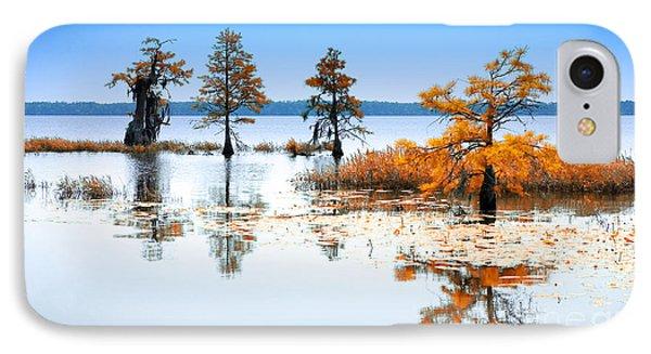Isle Of Peace - North Carolina IPhone Case by Dan Carmichael