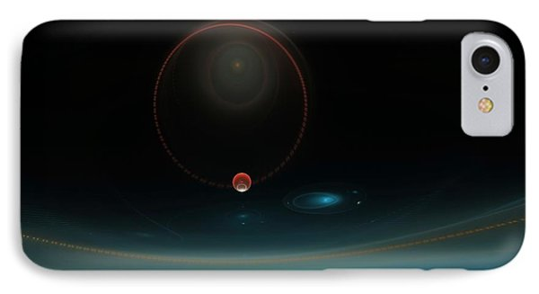 Isochronous Vibrations Phone Case by Peter R Nicholls
